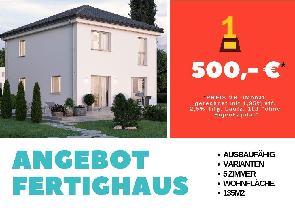 Aktionshaus 129, Bestes Angebot Fertighaus als Ausbauhaus
